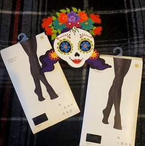 Brand New M/L Black Fashion Tights